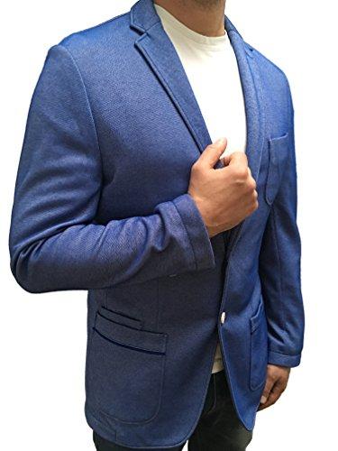 HUGO BOSS Herren Freizeit Sakko Slim Fit in hellblau L (50)