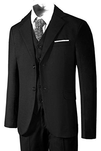 Hanayome Herren Anzug 3-Teilig Business Fit Anzugjacke Anzughose