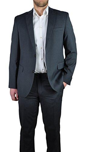 Herren Anzug in anthrazit oder grau, Regular Fit, Markenware (40999), Größe:25, Farbe:anthrazit