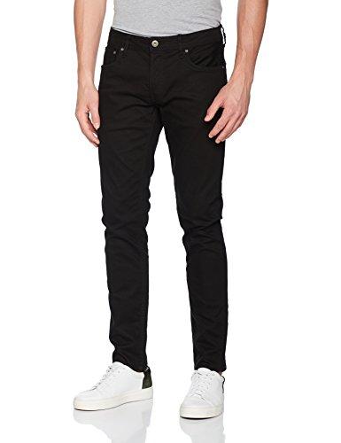 JACK & JONES Herren Slim Jeans Jjitim Jjoriginal CR 013, Schwarz (Black Denim), W34/L34 (Herstellergröße: 34)