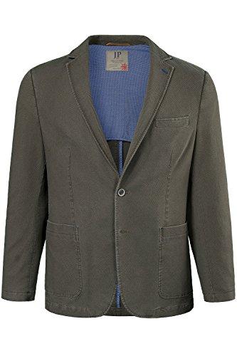JP 1880 Herren große Größen bis 66 | Sakko | Blazer in Baumwolle-Qualität | Reversform, Halbfutter, 2 Knopf-Leiste & 3 Taschen | braun 60 702460 31-60