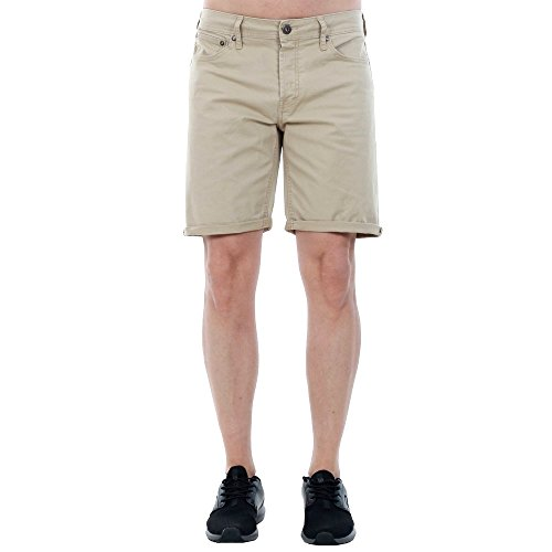 Jack & Jones Herren Chino Short JJIRICK JJORIGINAL, Größe:L, Farbe:White Pepper (12132687)