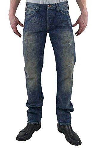 Lee Daren Regular Slim Hose Herren Jeans Left Hand Denim Blau L706QBNI, Größenauswahl:W32/L34