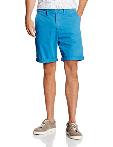 Lee Herren Chino Short, Blau (Deep Water 11), W30
