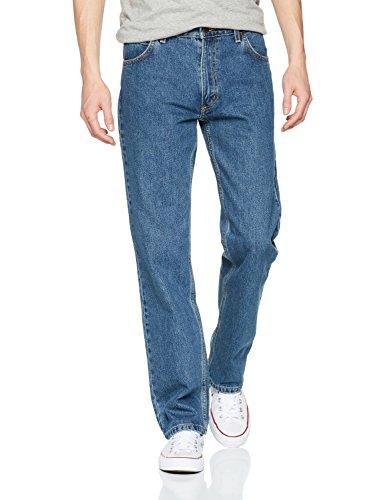 Lee Herren Jeans Normaler Bund L8124446, Gr. 32/30, Blau (DARK STONE)