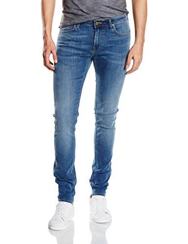 Lee Herren, Skinny, Jeans, Malone, GR. W34/L34 (Herstellergröße: W34/L34), Blau (common Blue)