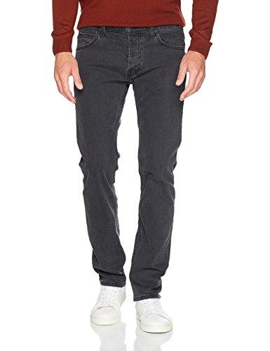 Lee Herren Slim Jeans Powell, Schwarz (Dark Trace Hbxu), W31/L36
