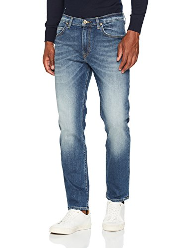 Lee Herren Slim Jeans Rider, Blau (Blue Surrender Dxen), W36/L32