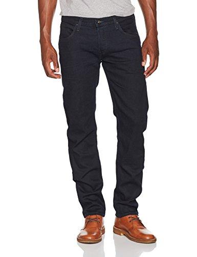 Lee Herren Straight Jeans Daren, Blau (Dark Prime Yqdo), W31/L34