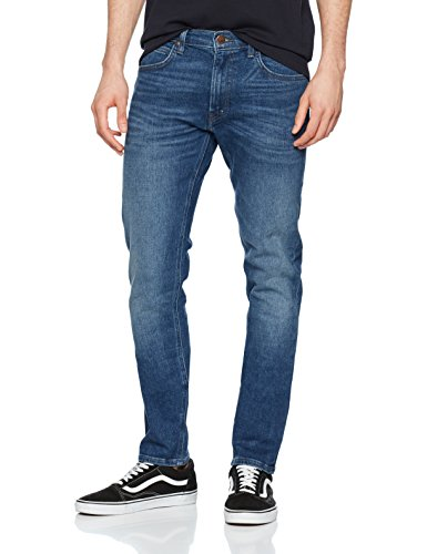 Lee Herren Tapered Fit Jeans Luke, Blau (Fresh Roig), W33/L32