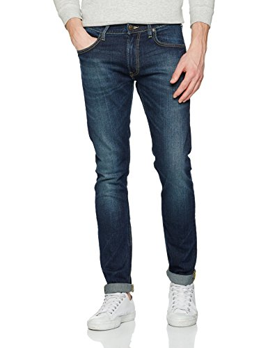 Lee Herren Tapered Jeans LUKE, Gr. W36/L34, Blau (NIGHT SKY BLUE YX)