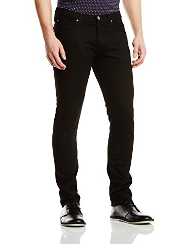 Lee Herren Tapered Jeanshose LUKE, Gr. W34/L30, Schwarz (CLEAN BLACK AE)