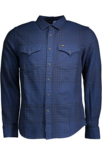 Lee LEE Herren Hemd WESTERN SHIRT WASHED BLUE L644DDLR 00 S - XXL (S)