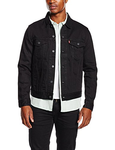 Levi's Herren Jacke the Trucker Jacket, Schwarz (Berkman 144), XXX-Large