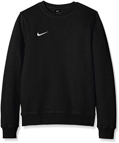 Nike Herren Sweatshirt Team Club Crew, Schwarz(black/football white), M