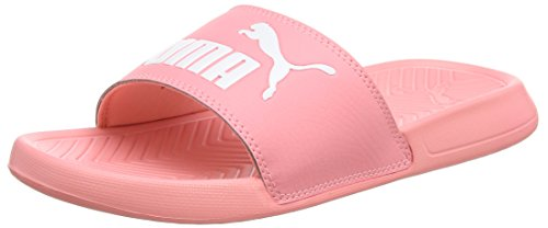Puma Unisex-Erwachsene Popcat Hausschuh, Pink (Soft Fluo Peach White), 42 EU