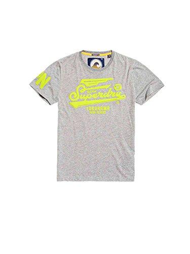 Superdry Herren T-Shirt Grau (13) XXL