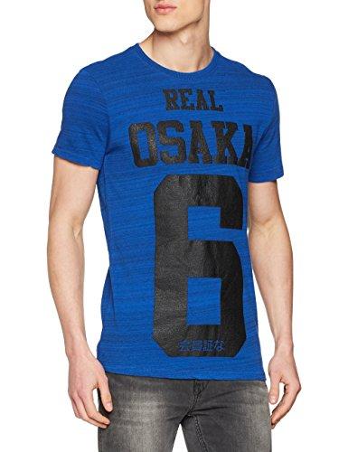 Superdry Herren T-Shirt M10009XP, Blu (Blast Blue), XX-Large