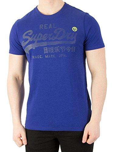 Superdry Herren T-Shirt blau M