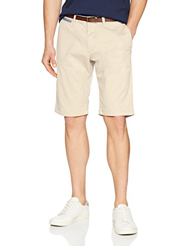 TOM TAILOR Herren Solid Chino Jim Shorts, Beige (Cashe Beige 8229), W34