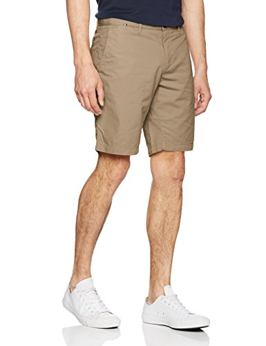 Tommy Hilfiger Herren Brooklyn Short Light Twill, Braun (Walnut 264), 34
