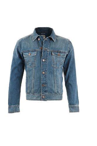 Wrangler Herren Jeansjacke Classic Jacket mid stone