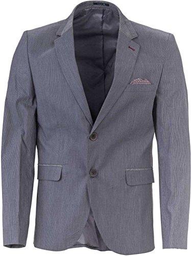 YAKE by S.O.H.O. NEW YORK Sakko Herren Slim Fit - Blazer Herren Sportlich Plymouth, Farbe: Anthrazit_006, Größe: 54