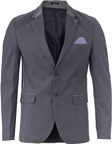 yake by s o h o new york sakko herren slim fit blazer herren sportlich york farbe grau 004. Black Bedroom Furniture Sets. Home Design Ideas