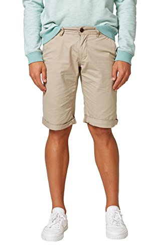 edc by ESPRIT Herren Shorts 998CC2C800, Beige (Light Beige 290), W30