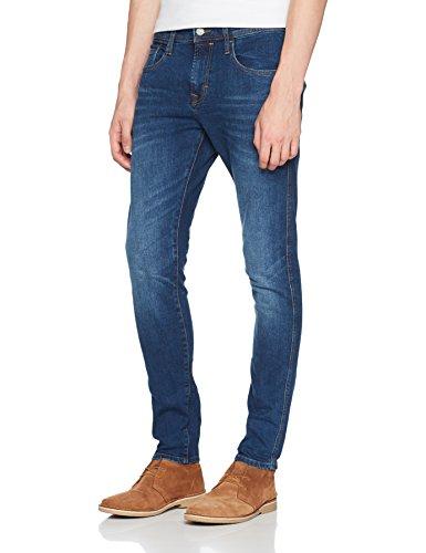 edc by ESPRIT Herren Skinny Jeans 087CC2B012, Blau (Blue Medium Wash 902), W36/L32