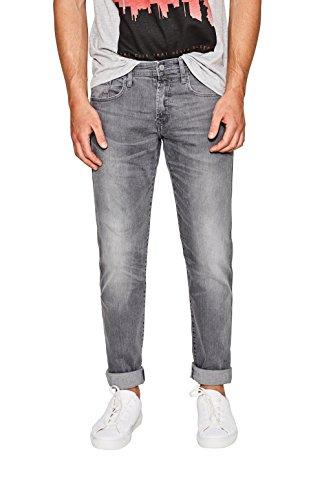 edc by ESPRIT Herren Slim Jeans 087CC2B004, Grau (Grey Medium Wash 922), W32/L32