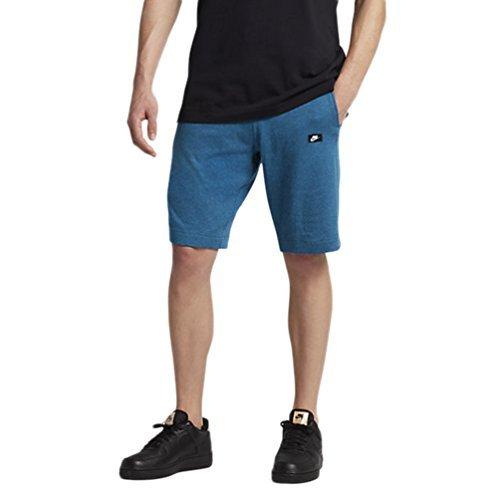 Nike M Kurze Sporthose/Shorts, für Herren XXL Blau (Industrie-Blau/htr)