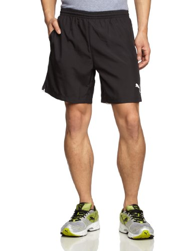 Puma Herren Trainingsshorts Leisure, schwarz, XL, 653830 03