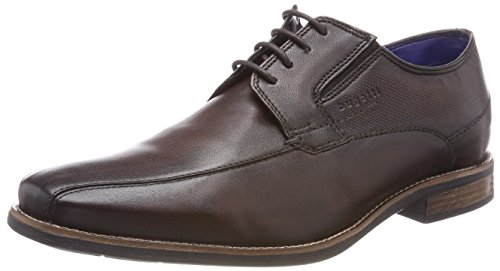 Bugatti Herren 311458024100 Derbys, Braun (Dark Brown), 42 EU