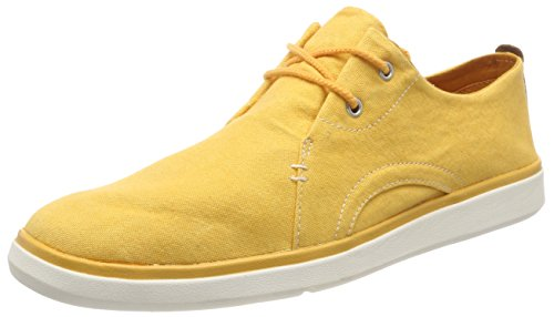 Timberland Herren Gateway Pier Canvas Sensorflex Oxfords, Gelb (Artisan's Gold Canvas 775), 44 EU