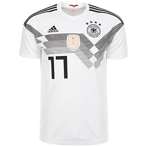 adidas Herren Dfb Heim Trikot, White/Black, L