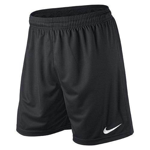 Nike Herren Shorts Park II Knit ohne Innenslip, Schwarz, Gr. M, 448224-010
