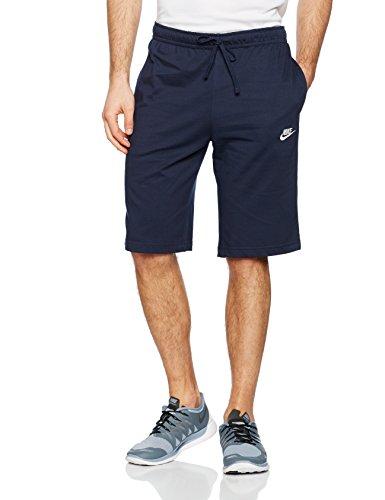 Nike Jersey Club Sportswear 100% Baumwolle, Obsidian/White, L