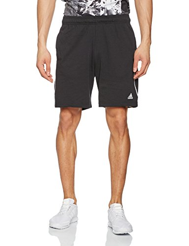 adidas Herren Essentials Chelsea Shorts, Black/White, M