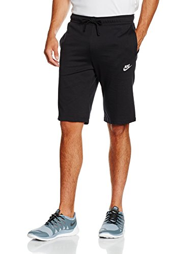 Nike Herren Nsw Jsy Club Trainingsshorts - Mehrfarbig (Black/White), XL