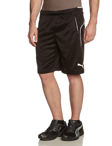 Puma Herren Trainingsshorts, schwarz, L, 653739 03