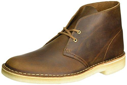 Clarks Originals Herren Desert Boot Derby, Braun (Beeswax), 43 EU