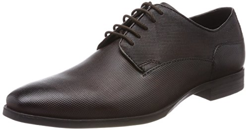 Bugatti Herren 311446011600 Derbys, Braun (Dark Brown), 45 EU