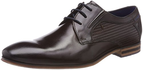 Bugatti Herren 311252042100 Derbys, Braun (Dark Brown), 43 EU