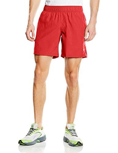 Puma Herren Badeshorts Active Cat Logo Beach Shorts M, Red, XL, 512855 04