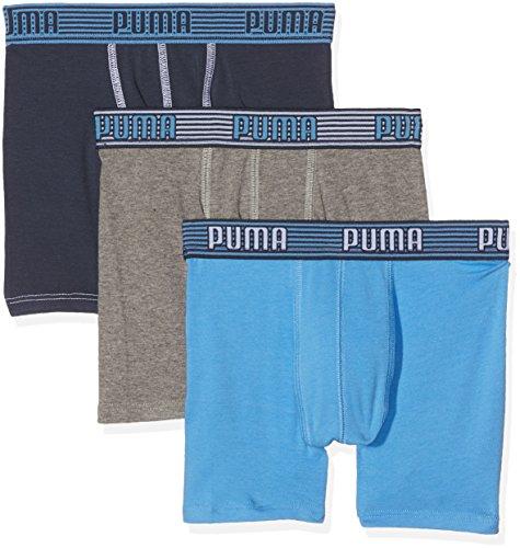 Puma Jungen Badehose 575333014 Bleu (Bleu), 7/8 jahre (122/128)