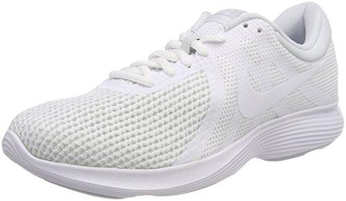 Nike Herren Revolution 4 EU AJ3490 100 Laufschuhe, Weiß (White-Pure Platinum 100), 41 EU