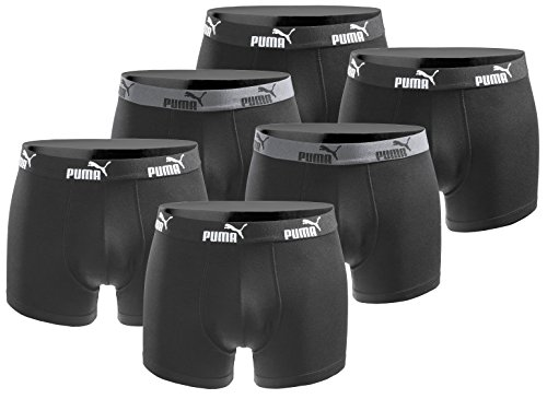 Puma 6er Pack Boxershort Größe M Herren Basic Black Limited Edition Black Power