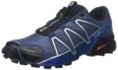 Salomon Herren Speedcross 4 Trailrunning-Schuhe, Blau (Slateblue/Black/Blue Yonder), Gr. 40 2/3