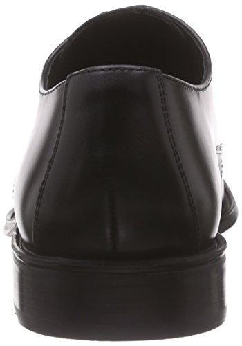 LLOYD Herrenschuh DOVER, klassischer Halbschuh aus Leder mit Gummisohle,Schwarz (SCHWARZ 0),42 EU